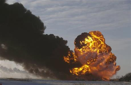 Oil Train Accidents-Glance