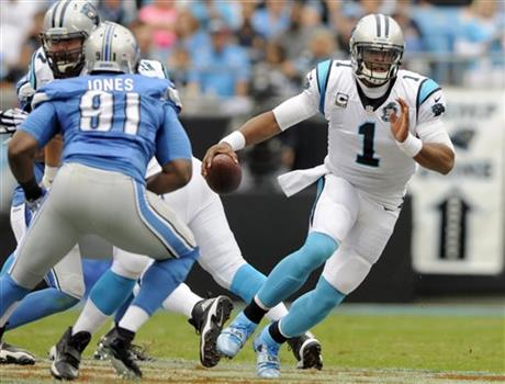 Cam Newton, Jason Jones