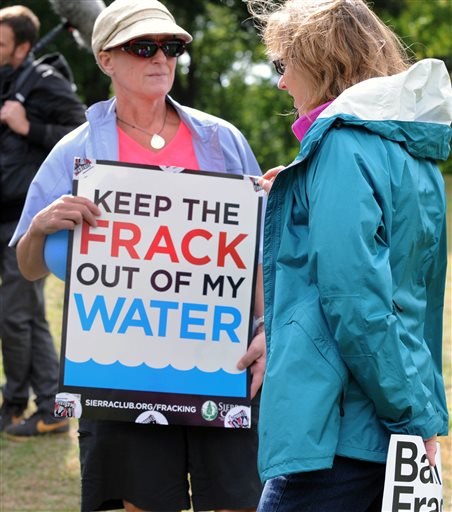 Gas Drilling Water Contamination