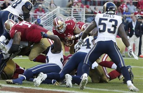Rams 49ers Football