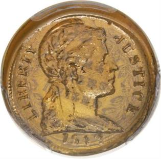 Glass Penny Auctioned