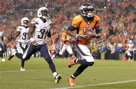 Emmanuel Sanders, Richard Marshall