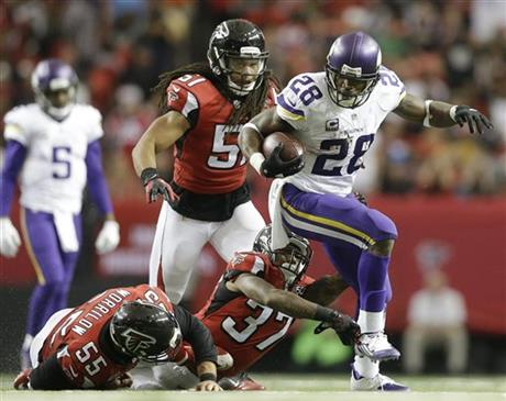 Vikings Falcons Football