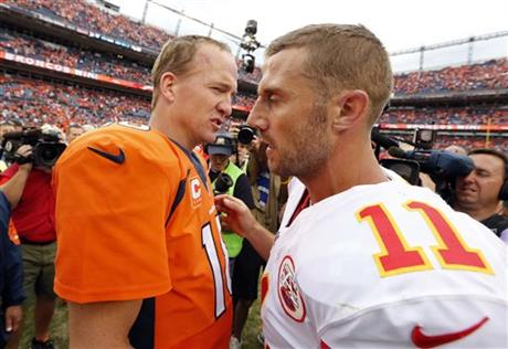 Peyton Manning, Alex Smith