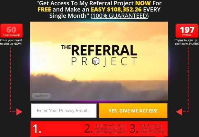 Referral Project System