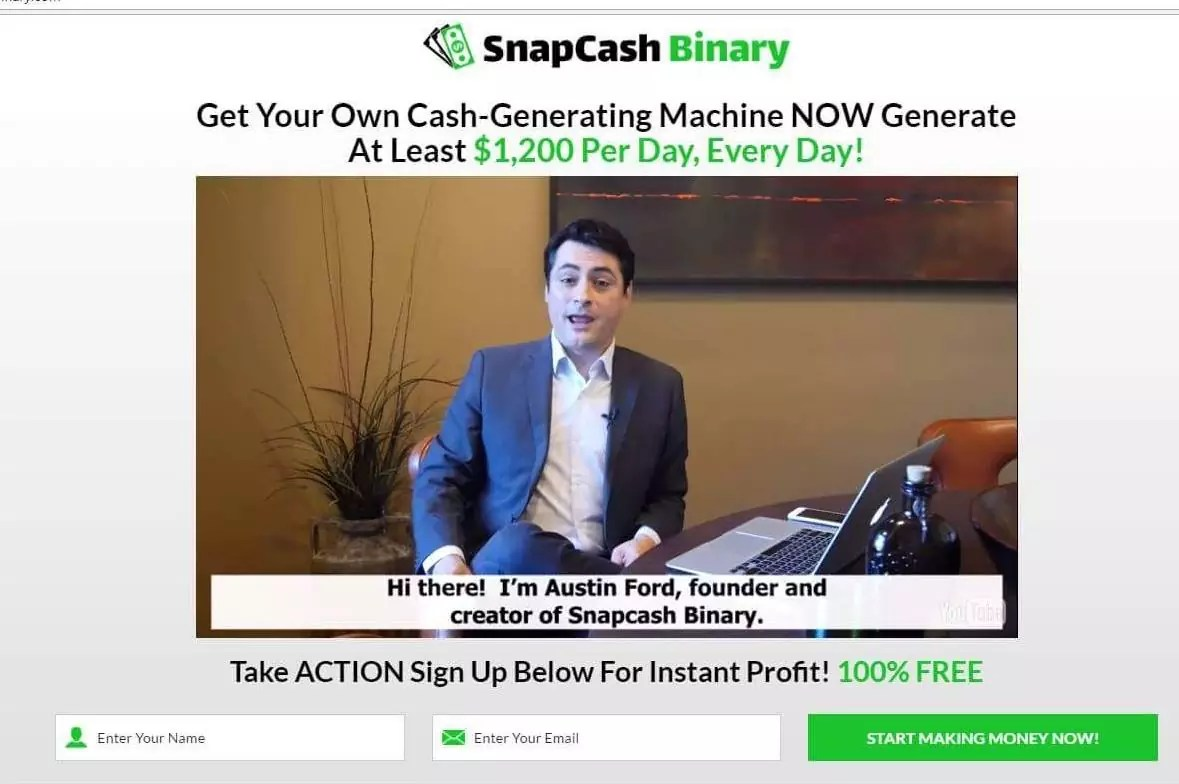 What are binary options charts real time