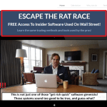 Escape The Rat Race Scam Exposed !! Facts Inside!!