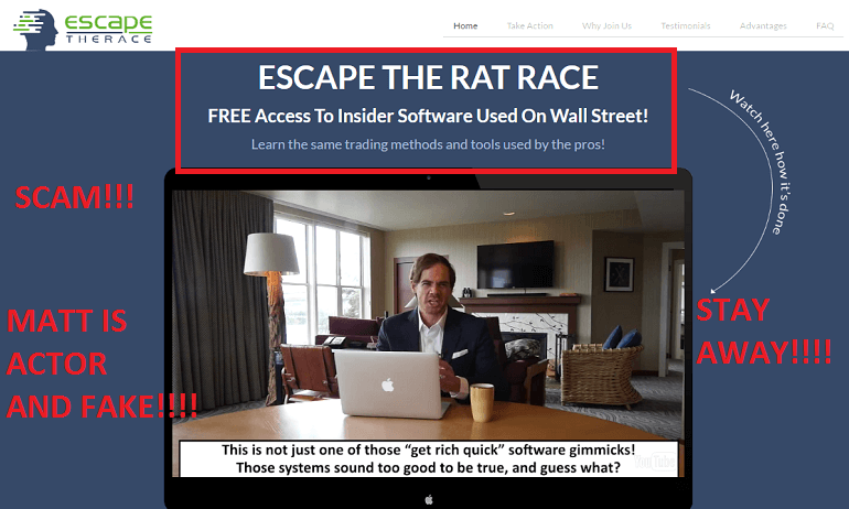 escape the rat race review