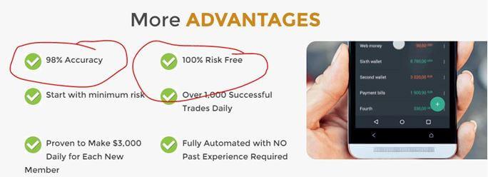98% ITM Rate fake claim