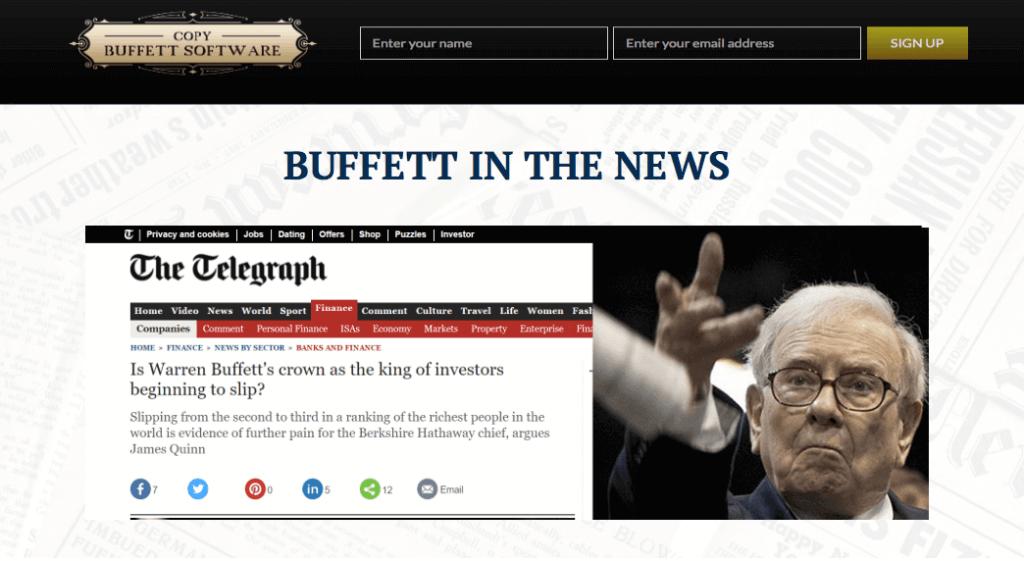 copy buffett review