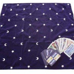 Tapete tarot estrellas y lunas