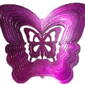 Movil tridimensional mariposa