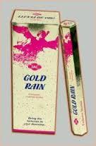 Incienso lluvia de oro