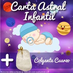 Promoción carta astral infantil