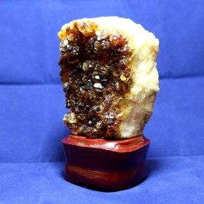Drusa cuarzo citrino