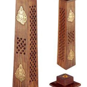 """alt=""""incensario-torre-madera-buda"""""""