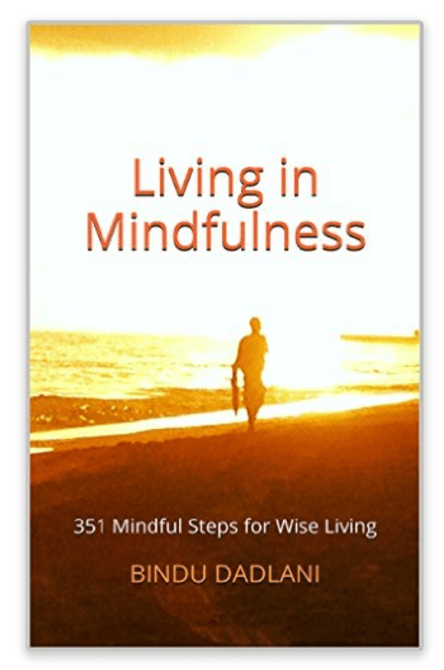A guide in the form of a book: Living in Mindfulness. Messages from the Heart