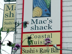 Mac's Shack and Mac's on the Pier, Wellfleet, Cape Cod