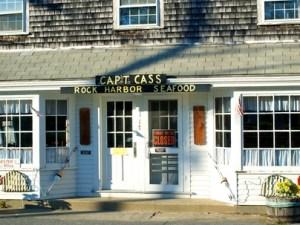 Cap't Cass Rock Harbor Seafood, Orleans, Cape Cod