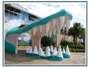 Gatorland entrance Orlando Florida