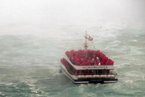 Hornblower cruise boat, Niagara for First-Timers