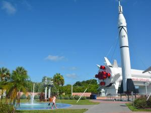 Rocket Garden, KSC Visitor Center, Space Coast