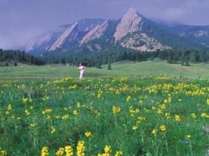 Runner in Boulder