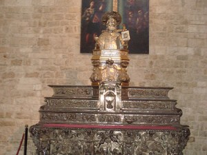Saint Nicholas Church in Bari, Puglia