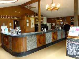 Burnley Vineyards Tasting Bar