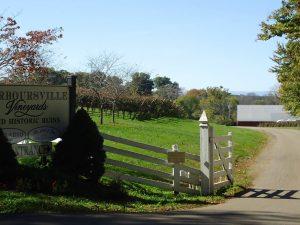 Barboursville Vineyards gate.