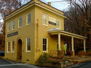 The Ox-Eye tasting room is in a remodeled century-old building.