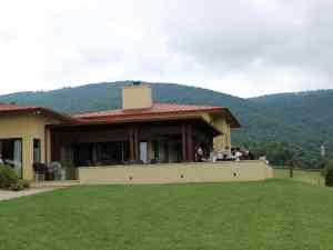 Afton Mountain Vineyards tasting room building