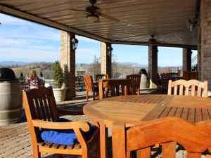 Bluestone Vineyard Outdoor Seating