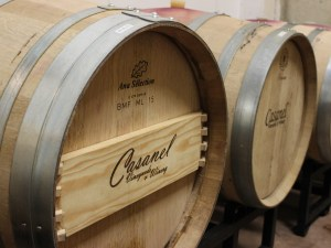 Casanel Vineyards and Winery Barrels