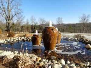 Cana Vineyards Fountain