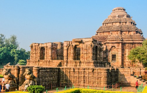 Monuments of Odisha. Sun Temple, Konark