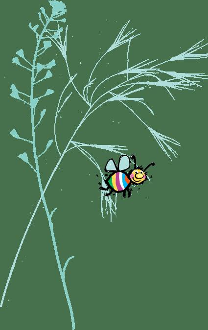 Biene Grashalme - Über mich