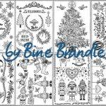 Zusammenstellung Weihnachten - Vorlagenmappe Fröhliche Weihnachten