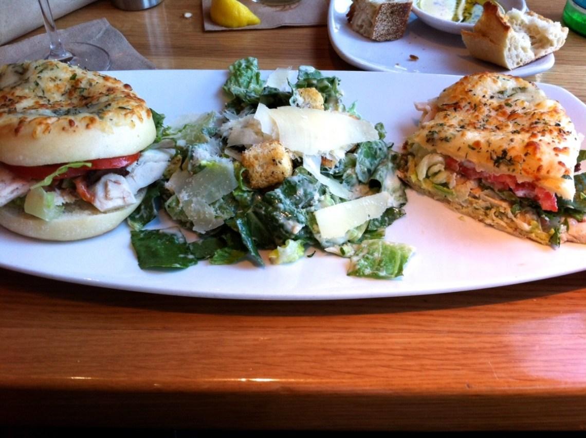 Caesar´s Salad mit Foccacia
