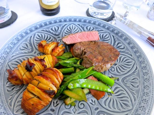 Steak auf Wokgemüse – 4