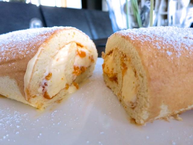 Biskuitroulade mit Mandarinen – 26