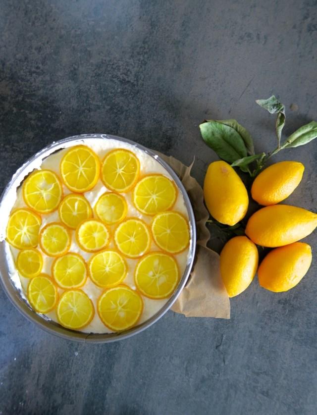 Topfentorte mit Orangen – 08