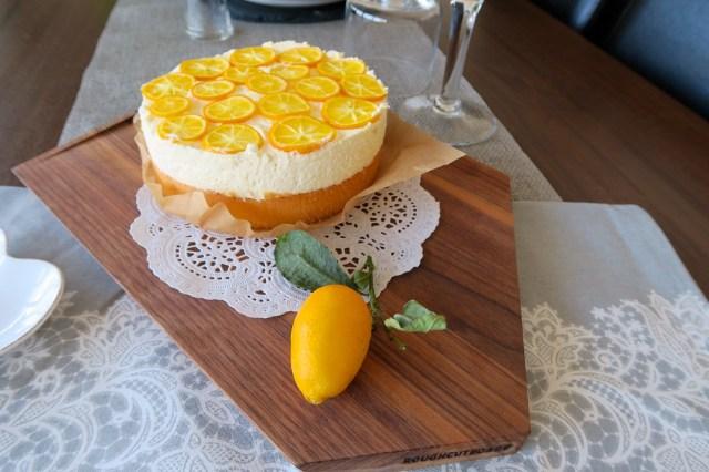 Topfentorte mit Orangen – 15