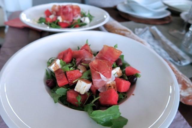 Salat mit Wassermelone – 05