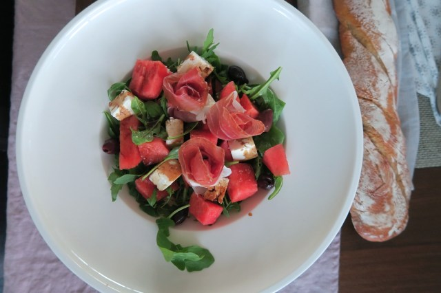 Salat mit Wassermelone – 10