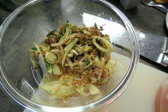 Hühnerbrust mit Fenchelsalat und Orangendressing – 06