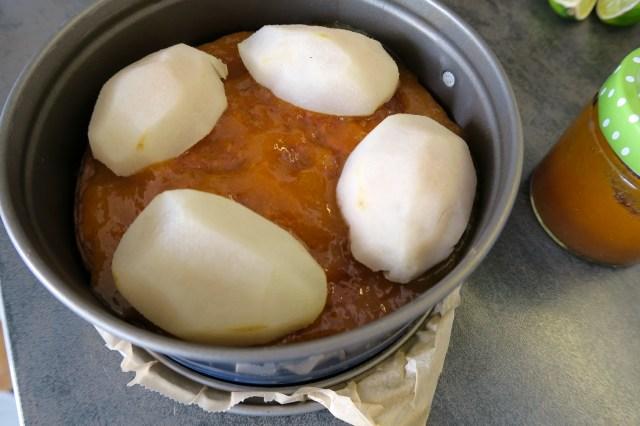 Schoko-Moussetorte mit Birnen – 11