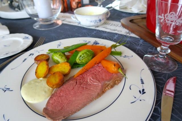 Roastbeef mit Gemüse – 32