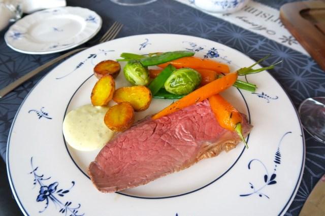 Roastbeef mit Gemüse – 38
