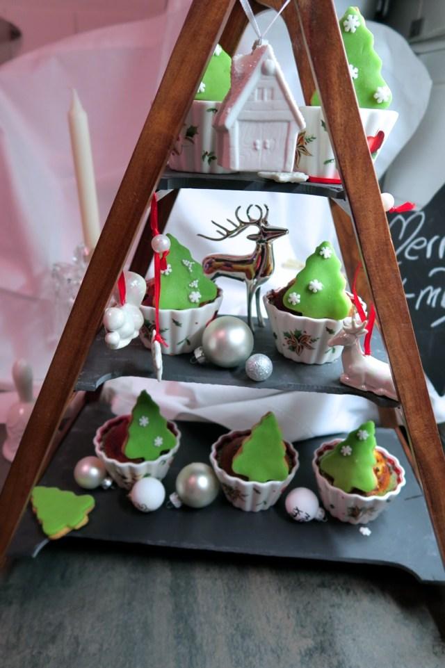 Weihnachtsbaum-Muffins – 30